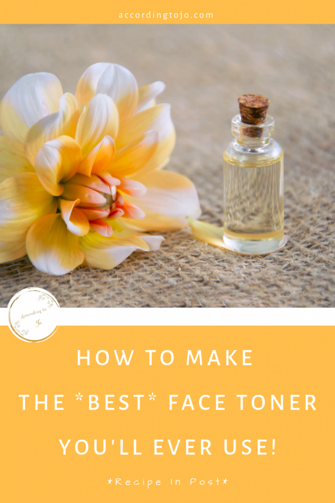 face toner - skin routine - clear skin - face care - accordingtojo.com