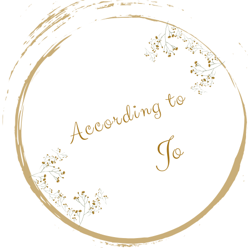 According to Jo - Logo