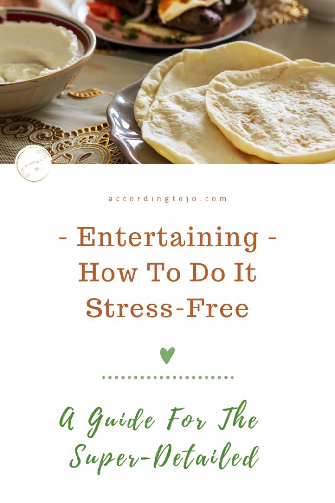 entertaining - how to entertain pin - accordingtojo.com