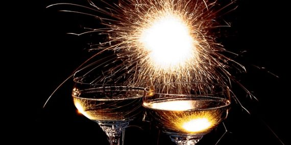 new year - resolutions - goals - champagne - celebrations - accordingtojo.com