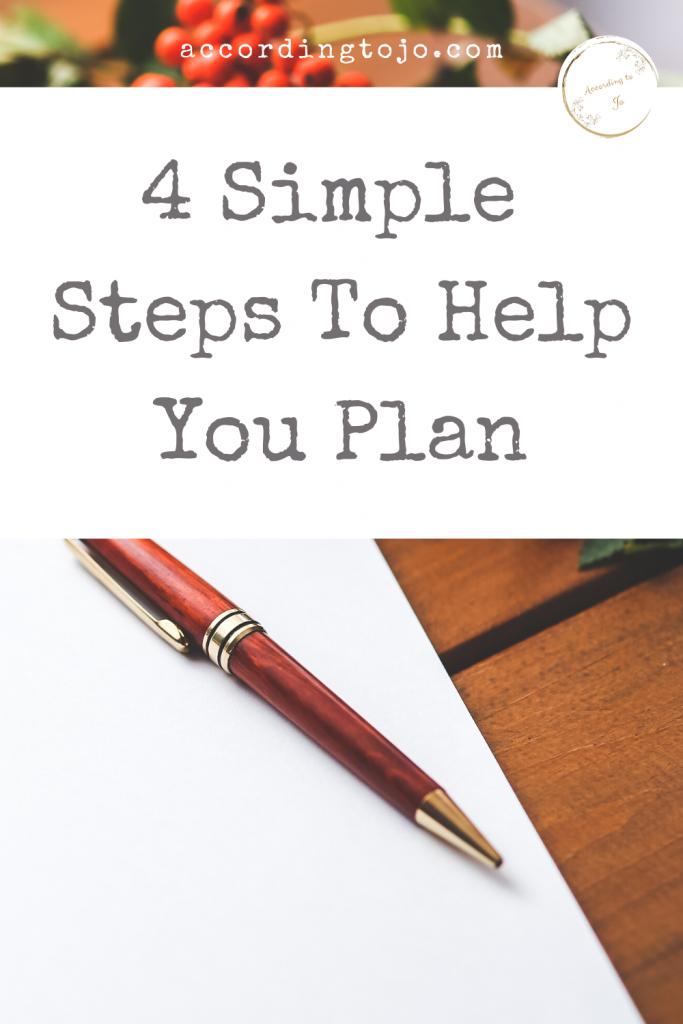 how to plan pin image - paper and pen - accordingtojo.com