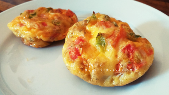 mini crusltess quiches - accordingtojo.com